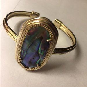 Kendra Scott Abalone Graham Cuff Bracelet